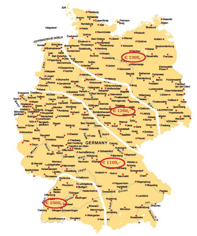 landkarte-deutschland-gross verdeeld